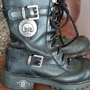 Harley boots willie G